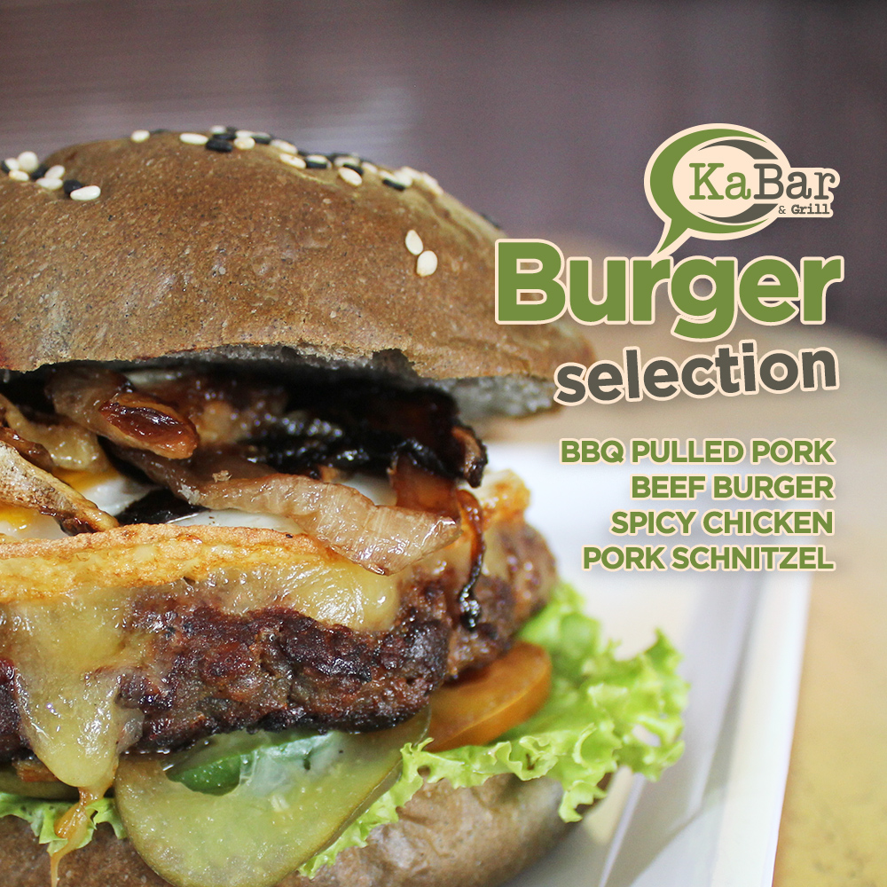 KB BURGER SELECTION WEEK 10